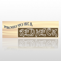 Proud Redneck 49 Bumper Sticker