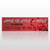 Rose Thorns 223 Bumper Sticker