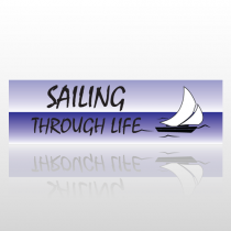 Sailing Life 228 Bumper Sticker