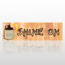 Shine On 234 Bumper Sticker