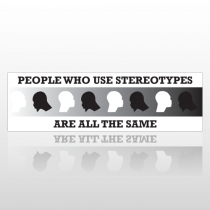 Stereothype 235 Bumper Sticker