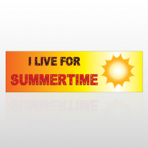 Summertime 71 Bumper Sticker