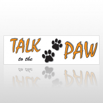 Talk Paw 199 Bumper Sticker