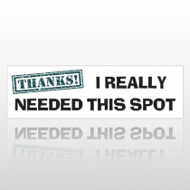 Tjhanks 76 Bumper Sticker