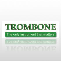 Trombone 159 Bumper Sticker