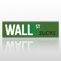 Wallstreet 268 Bumper Sticker
