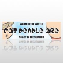 Warm Shady 222 Bumper Sticker