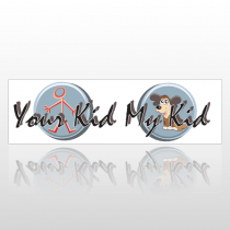 Your Kid 200 Bumper Sticker
