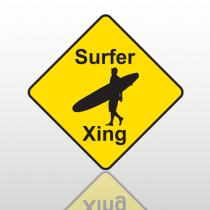 Surfer 35 Floor Decal Diamond