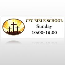 3 Crosses 149 Custom Decal
