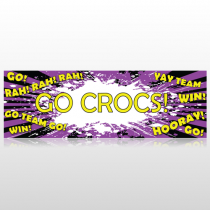 Crocs 54 Custom Decal