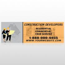Contractors 645 Custom Decal