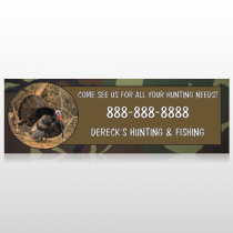 Hunt Turkey 409 Custom Sign