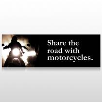 Motorcycle 321 Custom Decal
