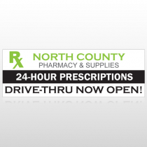 RX North County 105 Custom Sign
