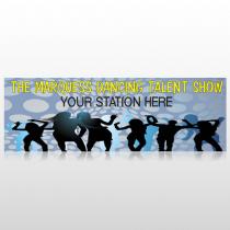 Talent Show 440 Custom Sign