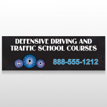 Traffic School 152 Custom Sign