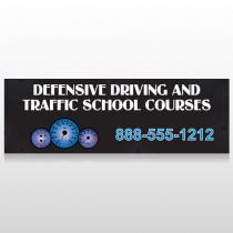 Traffic School 152 Custom Sign