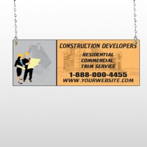 Contractors 645 Window Sign
