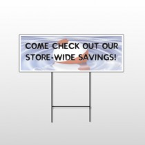 Fishing Bobber 410 Wire Frame Sign