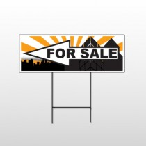 House Sale 718 Wire Frame Sign