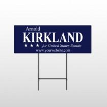 Senate 309 Wire Frame Sign