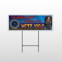 Amp Morning Show 439 Wire Frame Sign