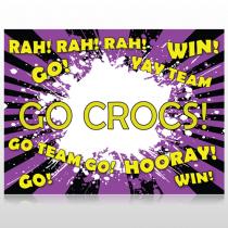 Crocs 54 Site Sign