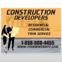 Contractors 645 Custom Sign
