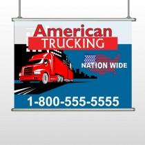 American Truck 295 Hanging Banner