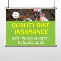 Bike Insurance 110 Hanging Banner