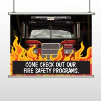 Safety Program 427 Hanging Banner
