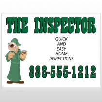 Inspector 245 Sign Custom