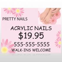 Nail Salon 291 Site Sign