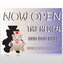 Nurse Bear 504 Site Sign