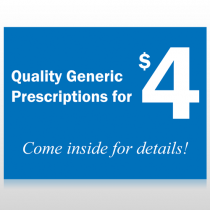 Pharmacy 334 Site Sign