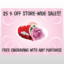 Pinkrose Hidden Ring 399 Custom Sign