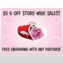 Pinkrose Hidden Ring 399 Site Sign