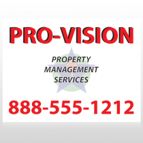 Property Management 247 Custom Sign