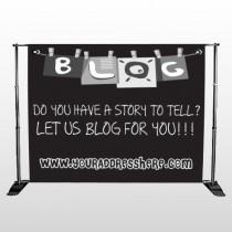 Blog Line 430 Pocket Banner Stand