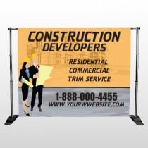 Contractors 645 Pocket Banner Stand