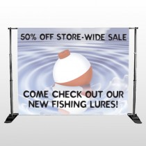 Fishing Bobber 410 Pocket Banner Stand