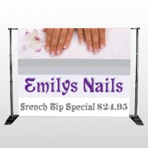 Flower Hands 295 Pocket Banner Stand