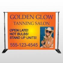 Golden Glow 491 Pocket Banner Stand