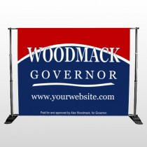 Governor 308 Pocket Banner Stand