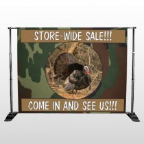 Hunt Turkey 409 Pocket Banner Stand