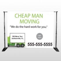 Moving 339 Pocket Banner Stand