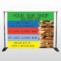 Sandwich 375 Pocket Banner Stand