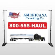 Tanker Truck 315 Pocket Banner Stand