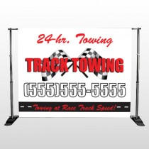 Towing 311 Pocket Banner Stand